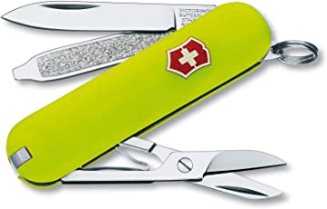 Victorinox Swiss Army Classic SD–Navaja de bolsillo, Classic SD, Stayglow