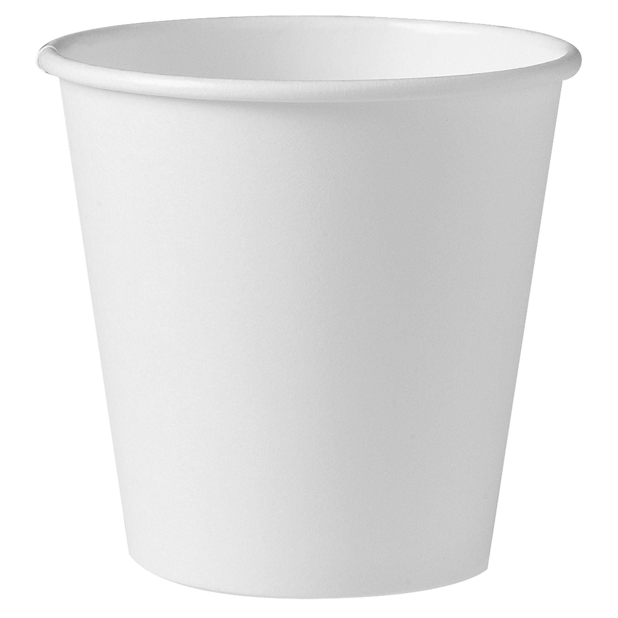 Solo 410W-2050 10 oz White SSP Paper Hot Cup (Case of 1000)