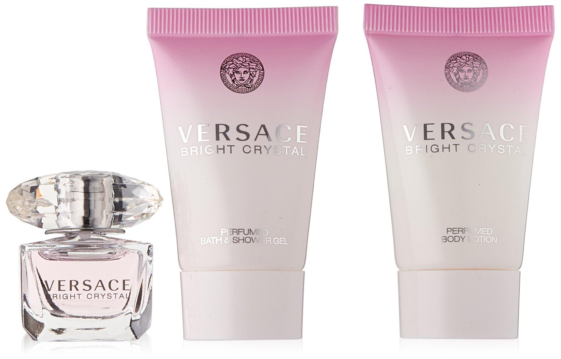 Versace Bright Crystal 3 Piece Miniature Set by Versace