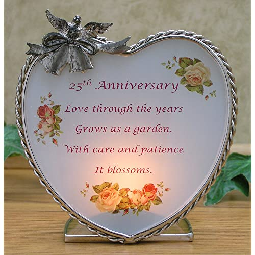 Silver Wedding Anniversary Gifts For Husband: 25th Silver Wedding Anniversary Gifts: Amazon.com