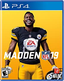 03a446ef390 Amazon.com  Madden NFL 19 - PlayStation 4  Electronic Arts  Video ...