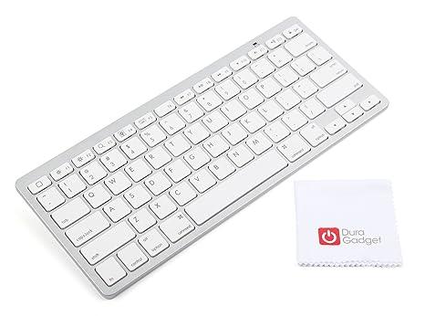 duragadget tastiera  DURAGADGET Tastiera Wireless per Tablet Apple | Android + Panno di ...