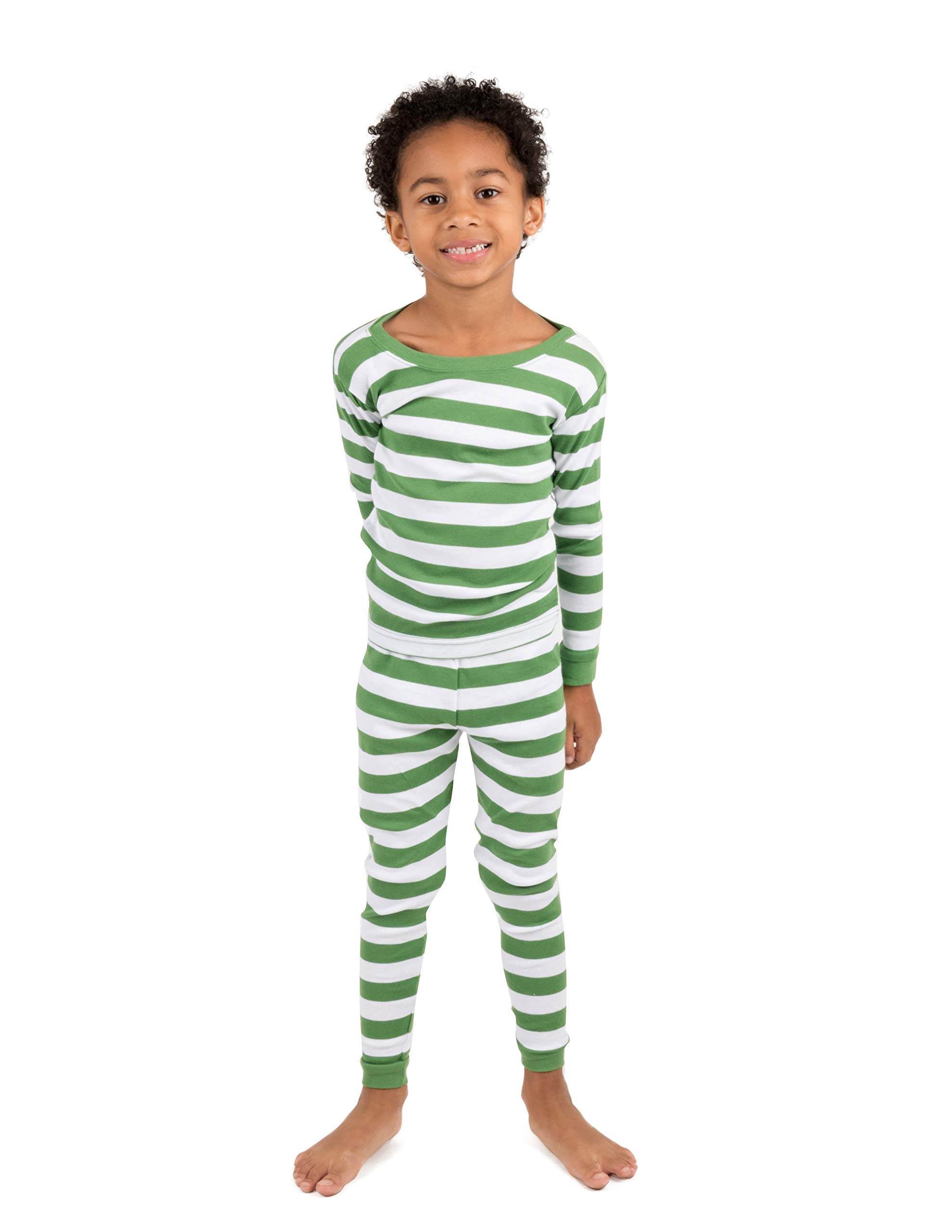 Leveret Striped Kids & Toddler Boys Pajamas