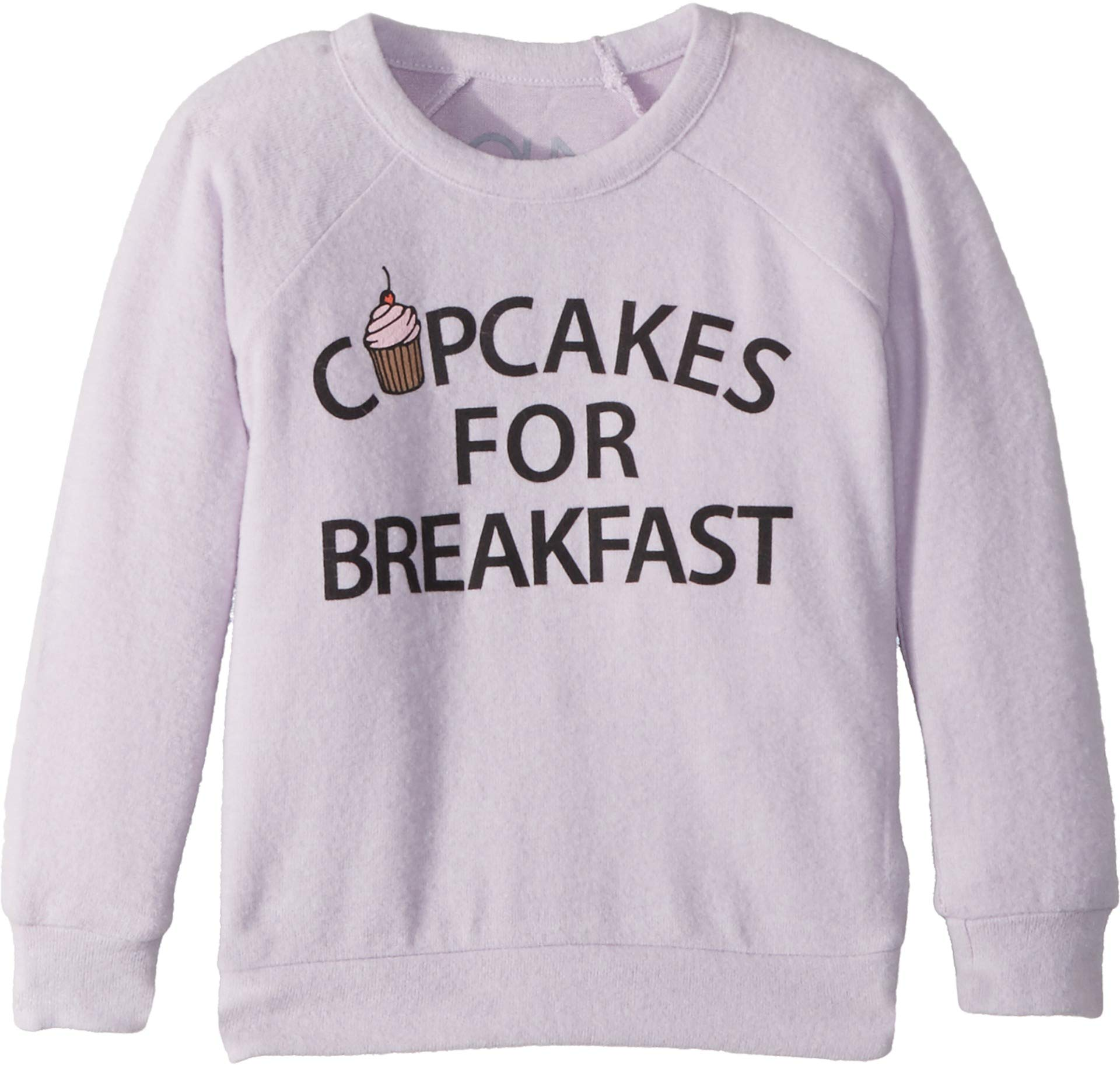 Chaser Kids Baby Girl's Super Soft Love Knit Cupcakes Breakfast Pullover (Toddler/Little Kids) Posy 5