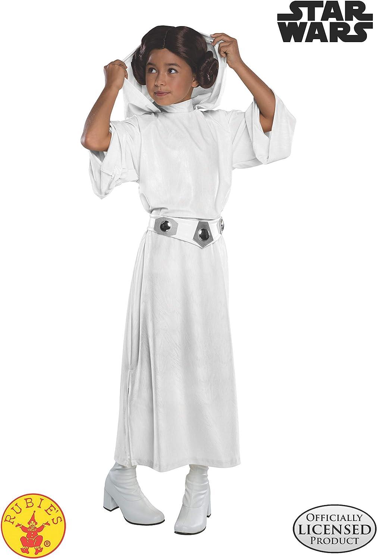 Rubies Disfraz oficial de la Princesa Leia de Disney Star Wars ...