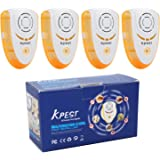 Kpest Ultrasonic Pest Repeller Pest Control,Electronic Plug In Pest Repellent For Mosquitos,Bugs,Mice,Roaches,Rats,Spiders,Other Insects,Non-toxic Environment-friendly, Humans & Pets Safe