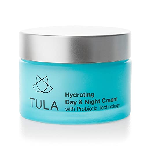 TULA Skin Care Hydrating Day and Night Cream, Probiotic Technology