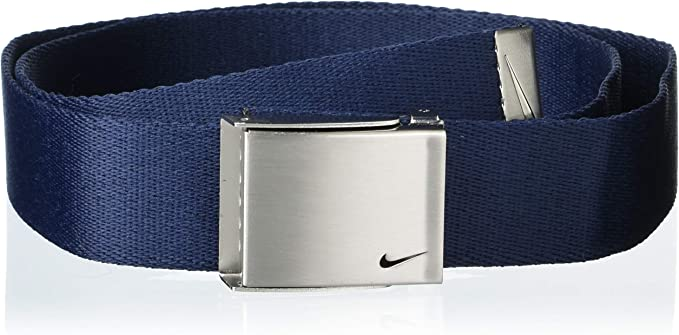 Península Simpático clima  Amazon.com: Nike Men's Standard 3 Pack Golf Web Belt, Black/Grey/Navy, One  Size: Clothing