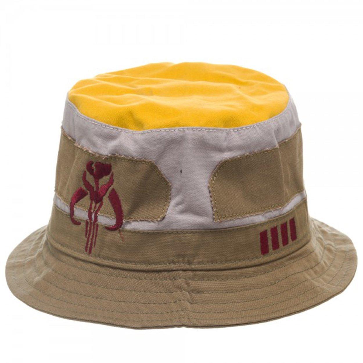837b31c00bc Amazon.com  Bioworld Star Wars Boba Fett Bucket Hat  Clothing