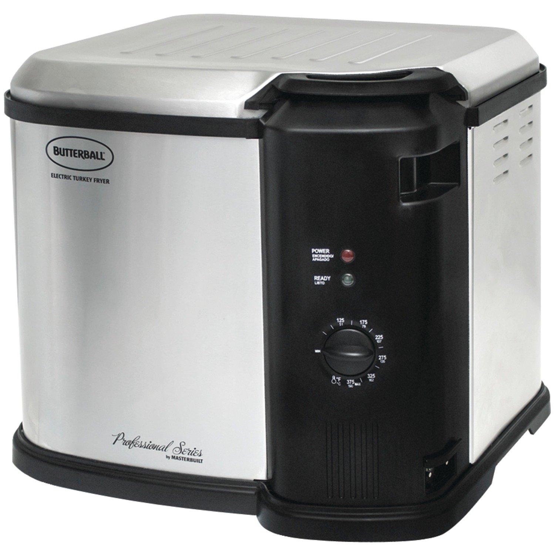 Masterbuilt 23011014 Butterball Indoor Gen III Electric Fryer Cooker Large Capacity MAST23011014