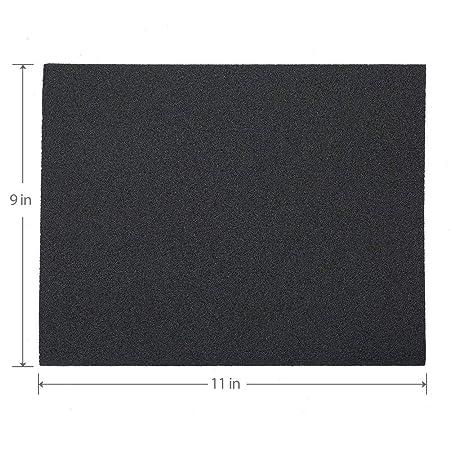Rantepao Wet Dry Sandpaper 120 Grit Assortment 9x11 Abrasive Paper Sheet Sanding 90Pcs