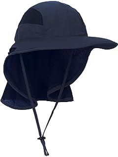 MFH Gorra con protecci/ón para la nuca color caqui