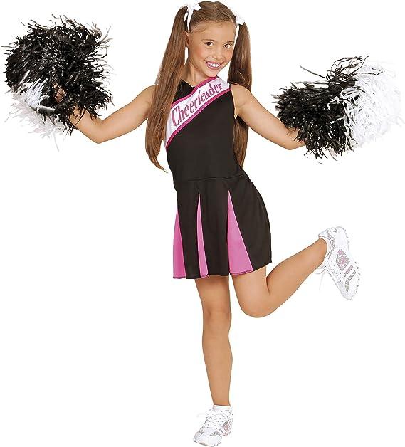 Hot Pink Costume da vestito operativo Girls Cheerleader 146cm 134cm 8-10 anni