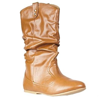 Womens Tiktok Slouchy Fashion Boot