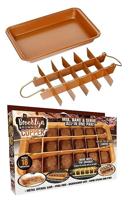 Gotham Acero 1491 Brooklyn marrón, Color marrón: Amazon.es: Hogar