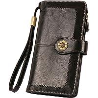 The Legend Of Zelda RFID Wallet Blocking Genuine Leather Wallet Zip Around Card Holder Organizer Clutch Wallet Large Capacity Purse Phone Bag For Men Women
