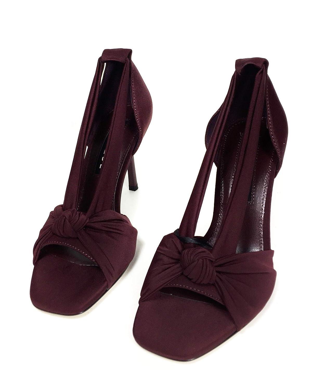 Uterque Women Fabric Wraparound Sandals 4036//051