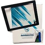 Vitre ecran tactile pour iPad air noir, bouton et adhésif pré installé + outils -Visiodirect-