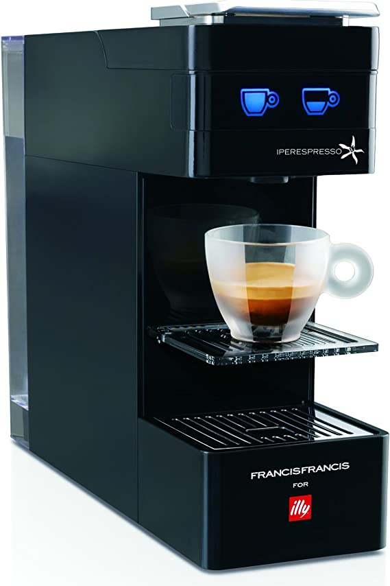 Francis Francis for Illy Y3 iperEspresso Coffee machine, Black by ...