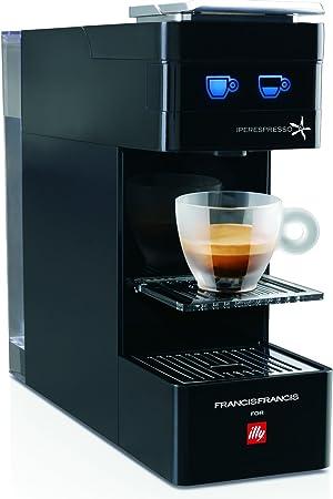 Francis Francis for Illy Y3 iperEspresso Coffee machine, Black by Francis Francis for Illy: Amazon.es: Hogar