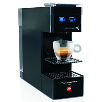 Amazon.com: illy Francis Francis Y3 iperEspresso Machine, Black ...