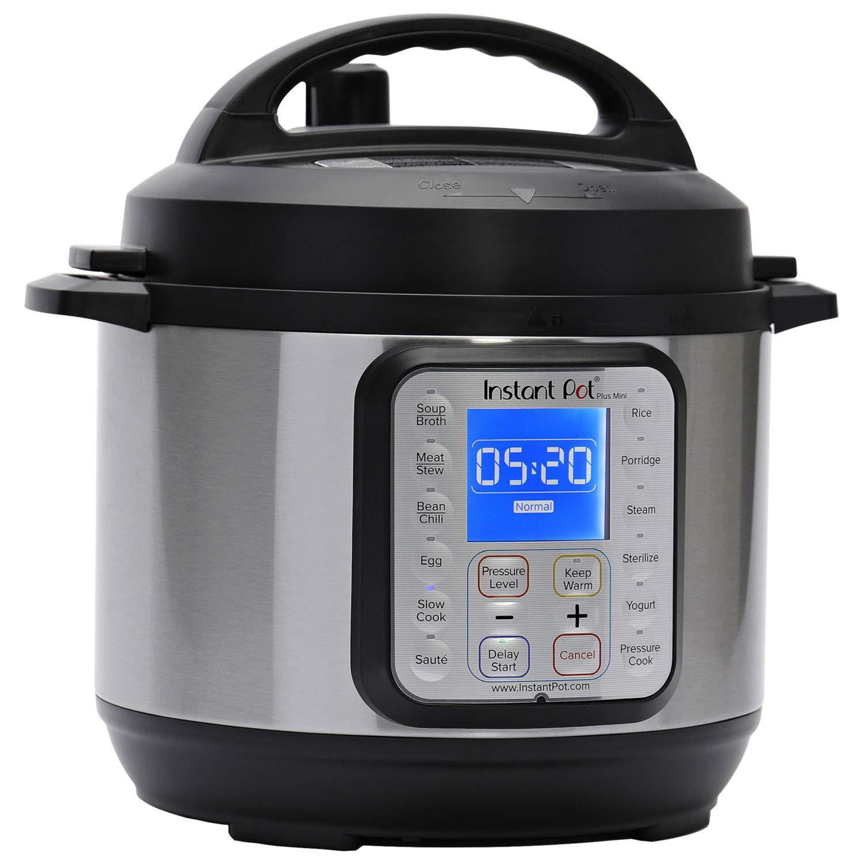 Instant Pot 3 Qt Multi-Use Programmable Pressure Cooker, Slow Cooker, Rice Cooker, Egg Cooker, Yogurt Maker, Sauté, Steamer, Warmer, and Sterilizer