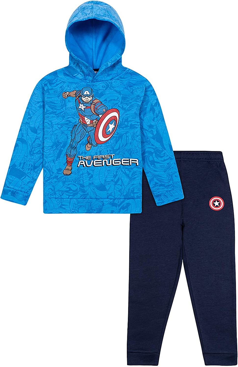 Avengers Boys 3 Piece Activewear Bundle Set - Long Sleeve...