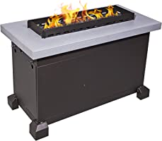 Camp Chef FP40G Monterey Propane Fire Table, Gray