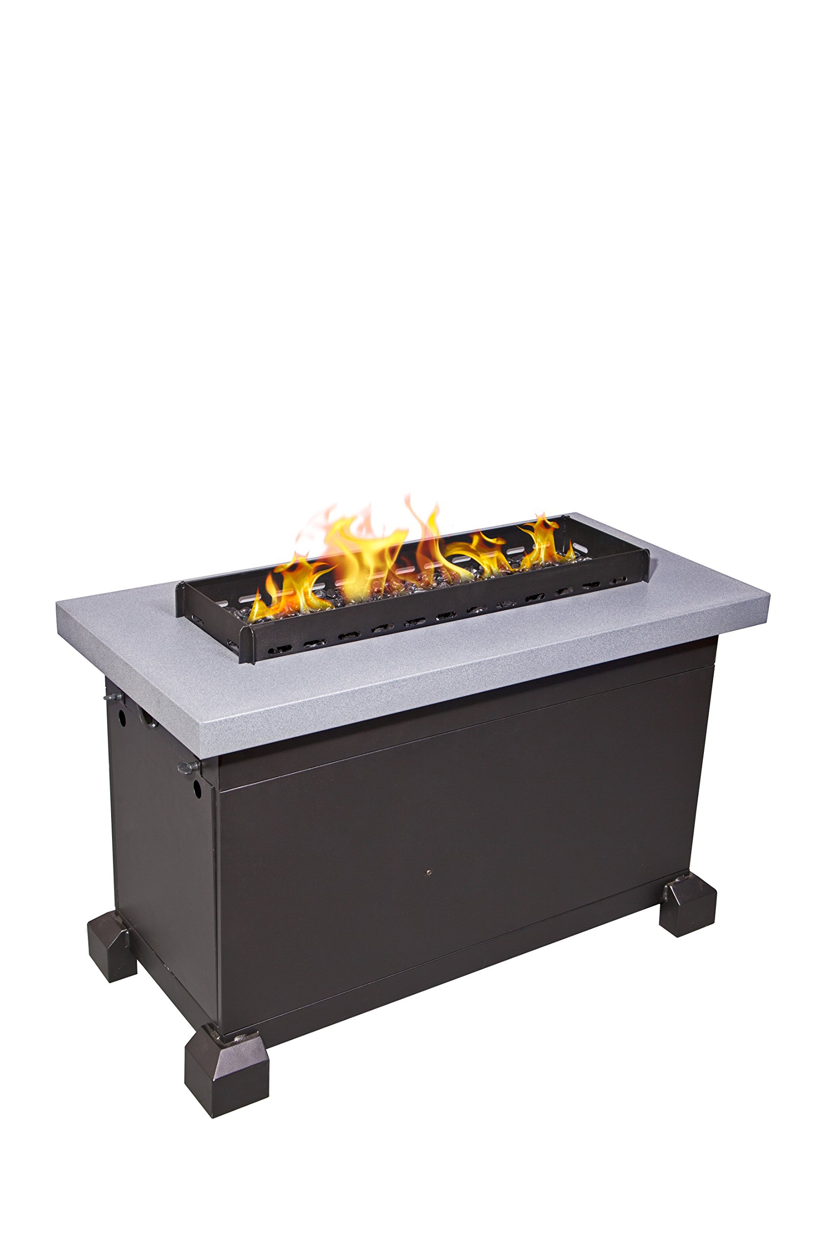 Camp Chef FP40G Monterey Propane Fire Table, Gray by Camp Chef