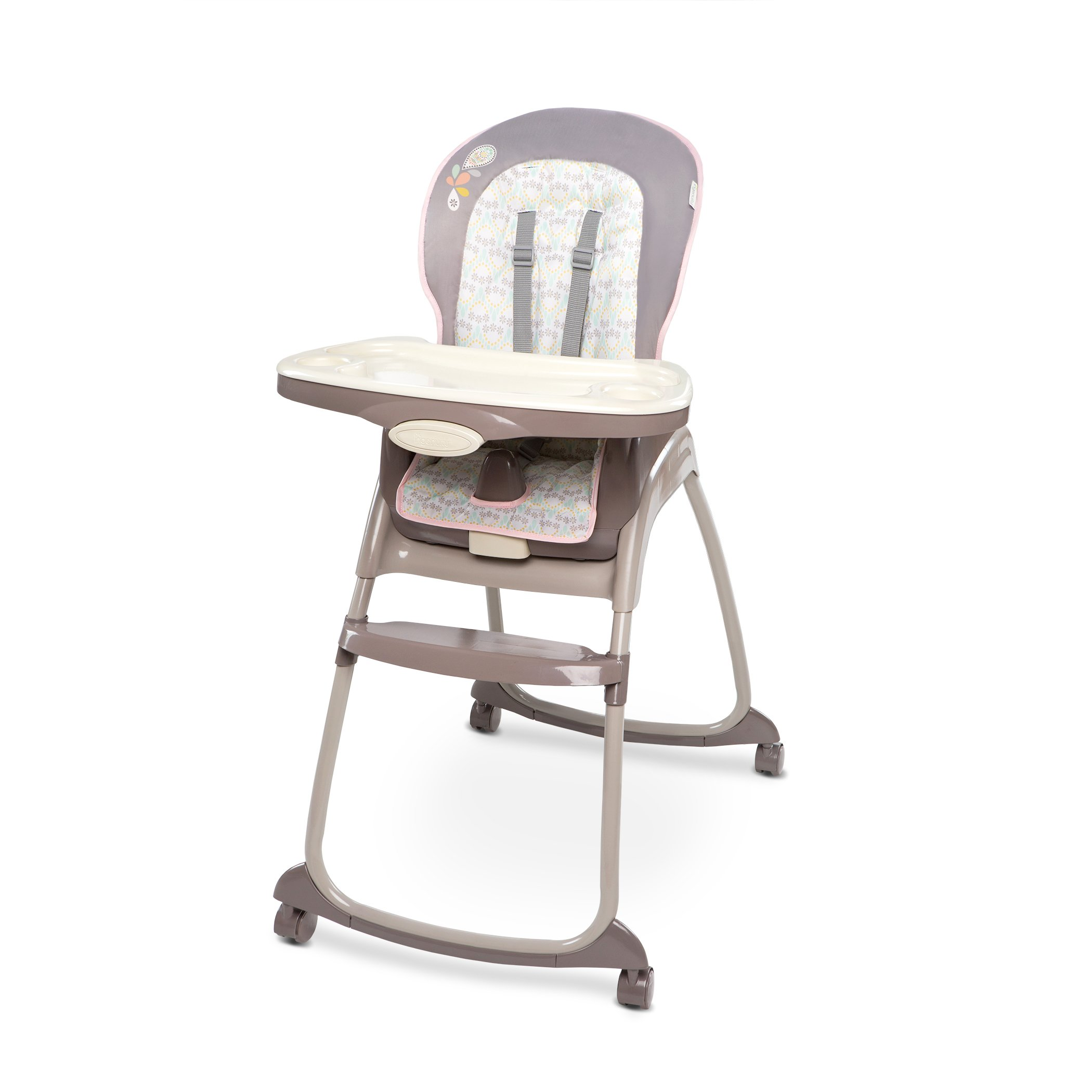Ingenuity Trio 3-in-1 High Chair, Deluxe Piper
