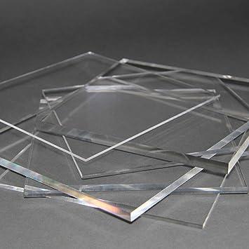 15 mm, 600 x 400 mm Acrylglas Zuschnitt Plexiglas Zuschnitt 10-25mm Platte//Scheibe klar//transparent