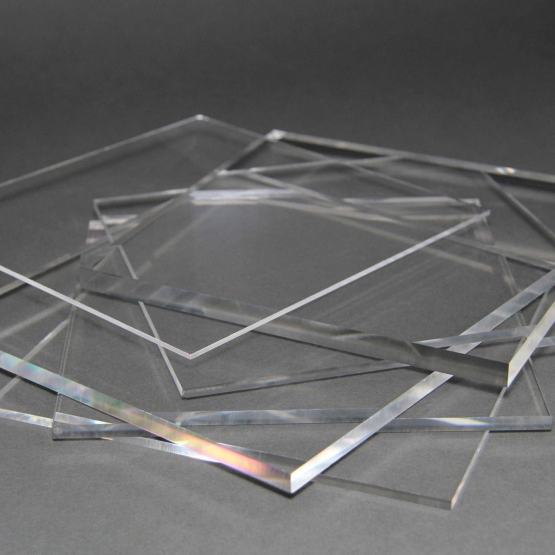 5 mm, 1500 x 700 mm Acrylglas Zuschnitt Plexiglas Zuschnitt 2-8mm Platte//Scheibe klar//transparent