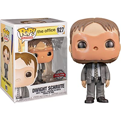 POP! Funko Television -The Office Dwight Schrute (with Mask) Exclusive: Toys & Games