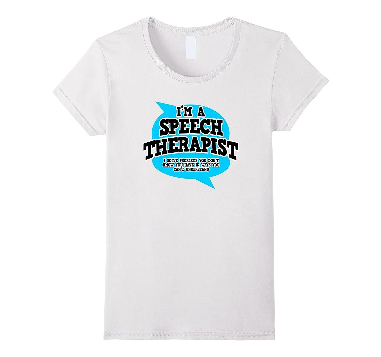 speech pathology t shirts funny profession tee shirt