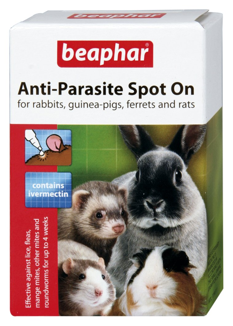 (2 Pack) Beaphar - Anti-Parasite Spot On (Rabbit/Guinea Pig)