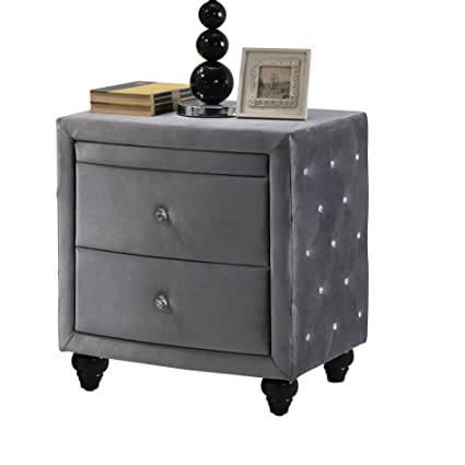 Perfect Amazon.com: Meridian Furniture Hudson-NS Hudson Collection Grey  MT71