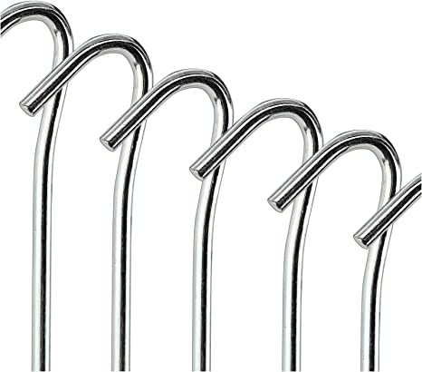 TENT PEGS METAL STEEL GROUND STAKES
