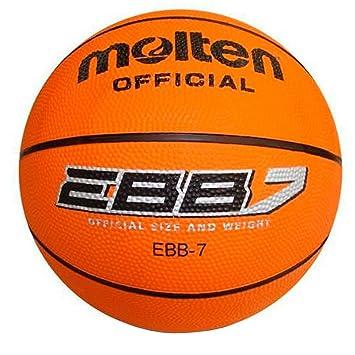 MOLTEN BR2 Balon Baloncesto, Adultos Unisex, Naranja, 7 ...