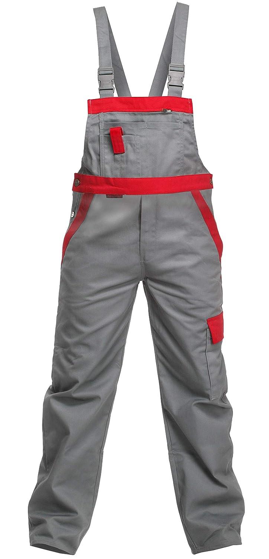 Charlie Barato L13704 L13704 L13704 52 Arbeitshose Sweat Life Latzhose für Handwerker, Grau rot, 52 B07587JJKD Arbeitshosen Haltbarkeit 3b920a