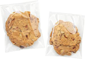 Clear Self Sealing Cellophane Bags,4x6 Inches 200 Pcs Cookie Bags Resealable Cellophane Bag for Packaging Packaging Cookies,Gifts,Favors, Products,Candy