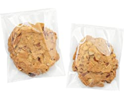 Clear Self Sealing Cellophane Bags,4x6 Inches 200 Pcs Cookie Bags Resealable Cellophane Bag for Packaging Cookies,Gifts,Favor