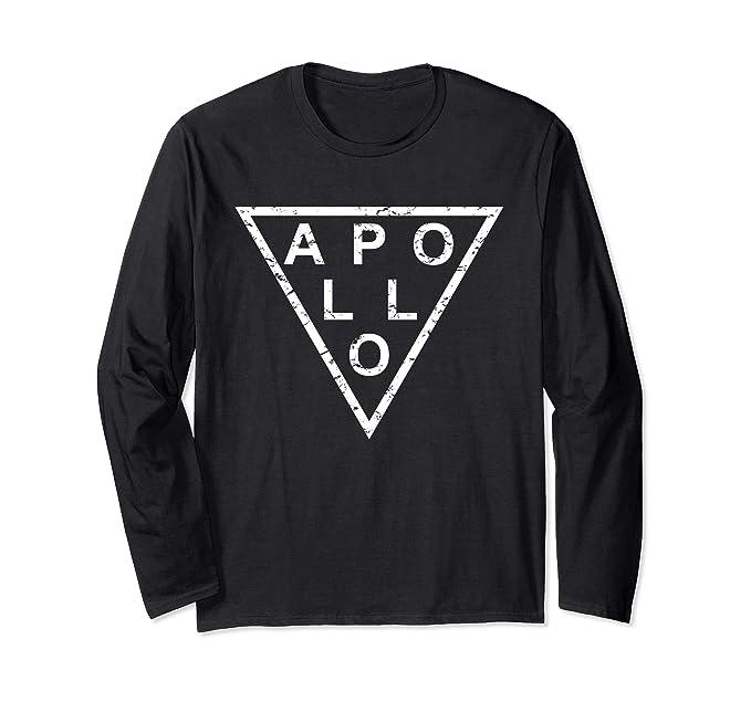 Amazon.com: Elegante camiseta de manga larga Apollo: Clothing