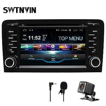 SWTNVIN Unidad de Audio estéreo para Coche Android 9 Compatible ...