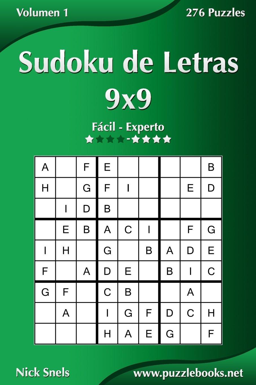 Sudoku de Letras 9x9 - De Fácil a Experto - Volumen 1 - 276 ...
