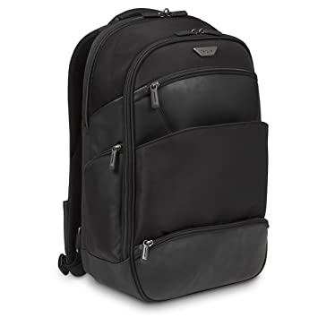 Amazon.com: Targus Mobile VIP 15.6 Lrg B/pack Black. Poly/PU, TSB914EU (Black. Poly/PU 12.5-15.6 20L Laptop Backpack): Computers & Accessories