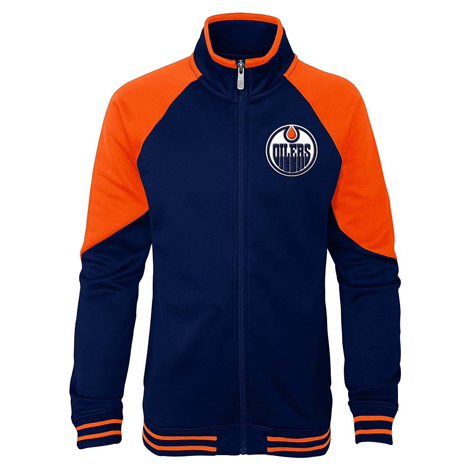 Outerstuff NHL Youth Girls Faceoff Full Zip Jacket