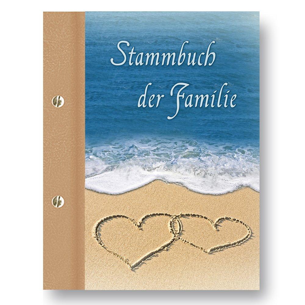 """Stammbuch der Familie /""""Light/"""" A5 blau Familienbuch Stammbücher Dokumente"""