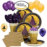 Wizard Realm Party Supplies Deluxe Bundle for 16 Guests