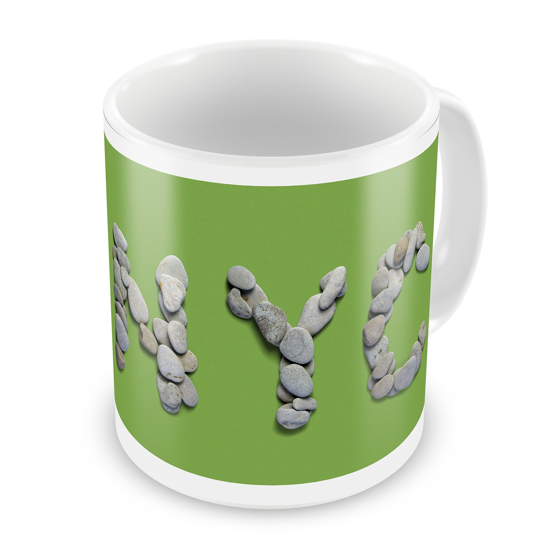 Coffee Mug NYC Spa Stones - NEONBLOND