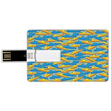 8GB Forma de tarjeta de crédito de unidades flash USB Decoración ...